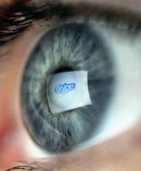 Skype eye
