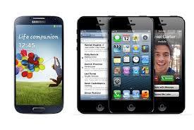 SamsungS4vsiPhone5